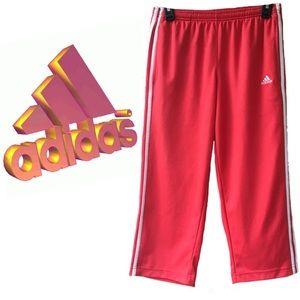 Women's Adidas Athletic Orange/Pink Capris Small